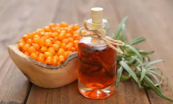 Витамин Е содержится в облепиховом масле