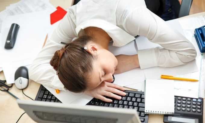 Сонливость свидетельствует о наличии заболевания