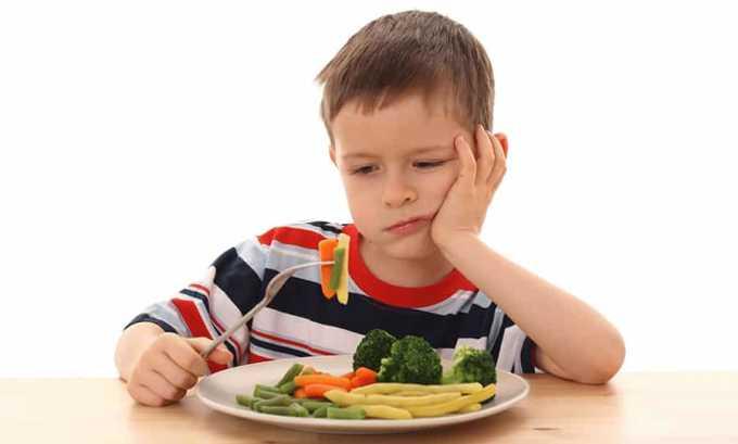 Прием чрезмерных доз l-тироксина 125 может привести к потере аппетита