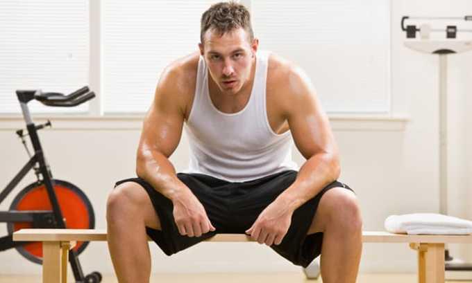 Вольтарен применяют при мышечной боли, вызванной травмами, ушибами, растяжениями, интенсивными физическими нагрузками
