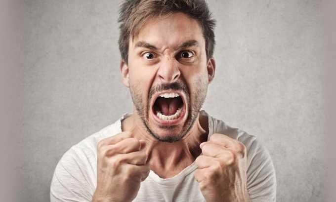 Пропранолол назначают при агрессивном состоянии