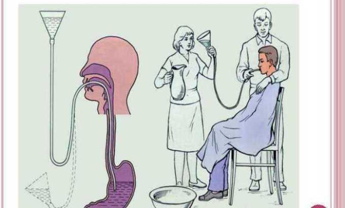 В случае передозировки препарата промывают желудок