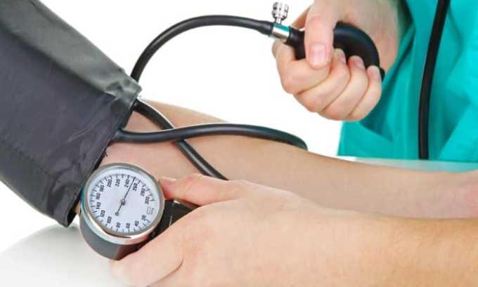 Препарат применяется при артериальной гипертензии