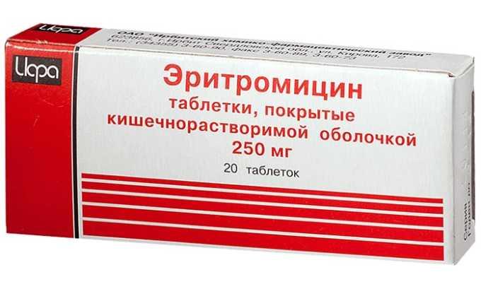 Использование Дексаметазона способствует понижению эффективности таких средств, как Эритромицин