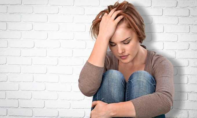 Прием таблеток показан при стрессе