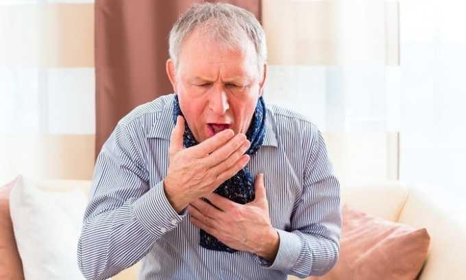 У человека, который принимает Бетакор, может появиться кашель