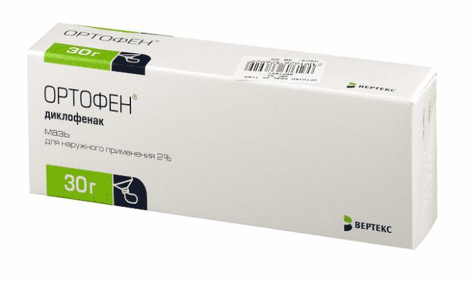 Ортофен можно применять вместо Диклофенака