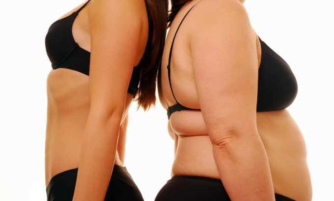 Ожирение является одной из причин повышения значения гормона Т4 в организме женщины