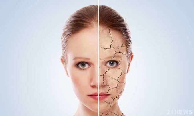 Ретинол способствует обновлению клеток кожи