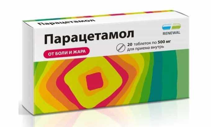 Парацетамол при одновременном приеме с гормональным препаратом вызывает интоксикацию