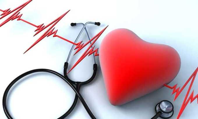 Препарат противопоказан при заболеваниях сердечно-сосудистой системы