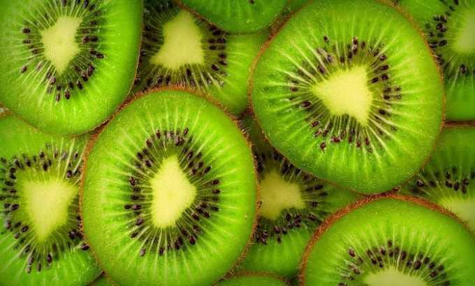 В киви содержится большое количество витамина Е