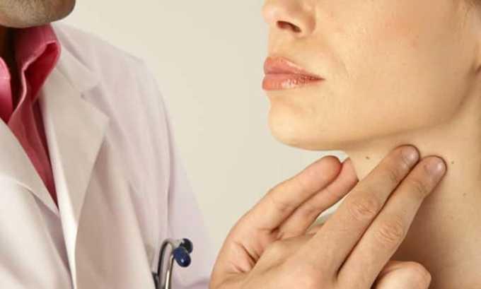 Преднизолона и Супрастина при заболевании щитовидной железы