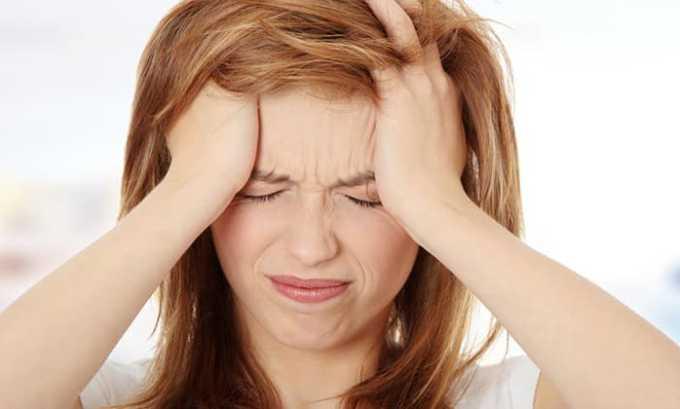 При превышении рекомендуемой дозировки возможна головная боль