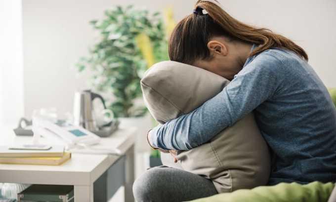 Прием лекарства может сопровождаться депрессией
