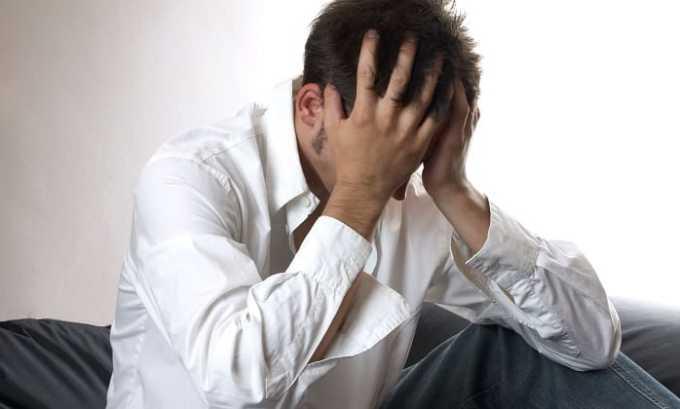 Корвалол принимают при повышенной тревожности