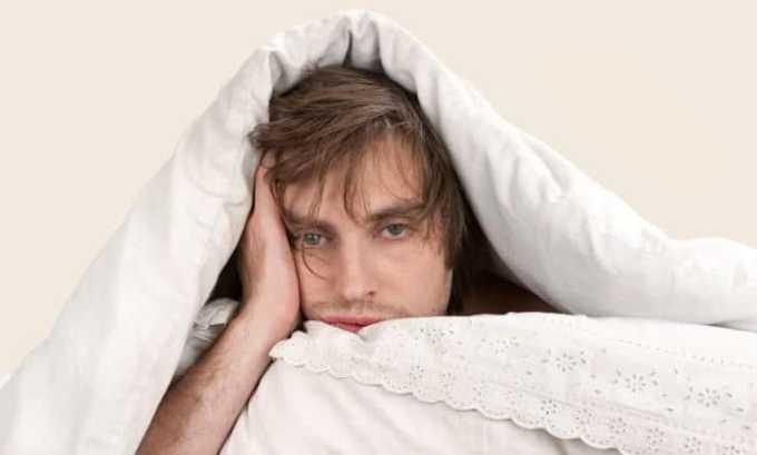 При чрезмерном употреблении лекарства может ухудшиться сон