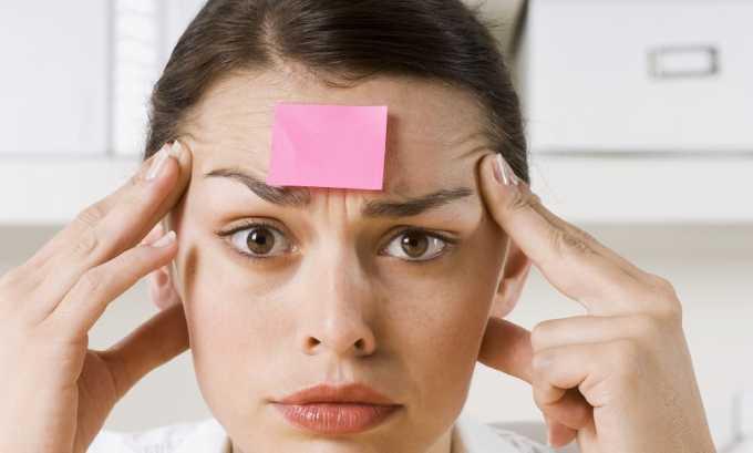 Снижение памяти и работоспособности указывает на проблемы со щитовидной железой