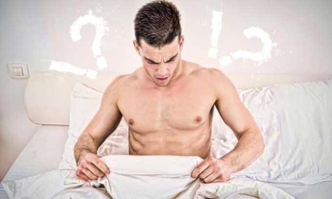 Нарушение потенции у мужчины является одним из клинических проявлений падения уровня Т3 общего в крови
