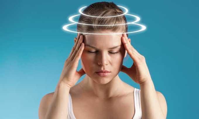 В результате передозировки дексаметазоном наблюдается головокружение