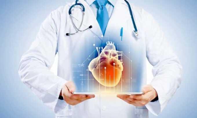 В клинической практике препарат применяется для устранения нарушений функциональной активности сердца