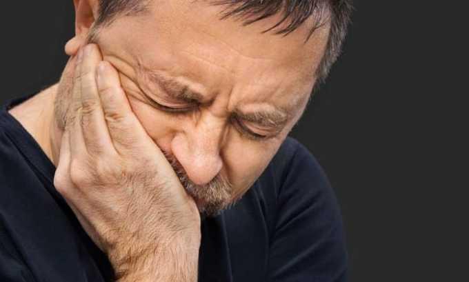 После приема препарата Калия Йодид 100 может возникнуть зубная боль