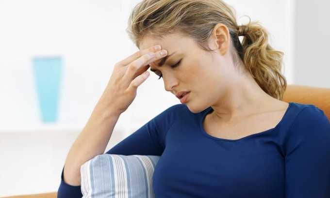 Гормональный препарат способен стать причиной, головокружения и общей слабости