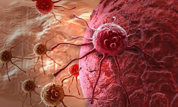 Врачи не рекомендуют прием подобных препаратов при онкологических заболеваниях