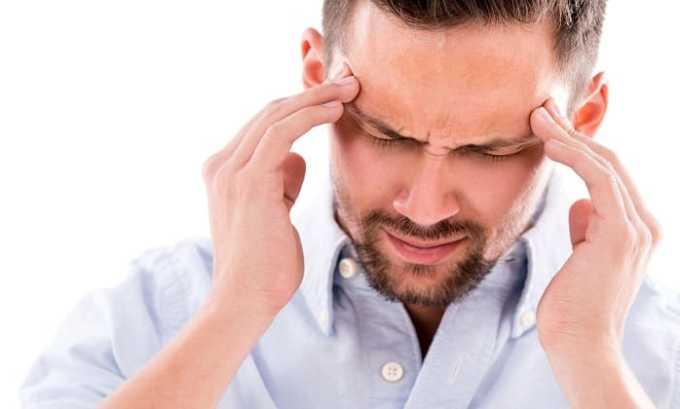 В некоторых случаях на фоне приема препарата могут начаться головные боли и головокружения