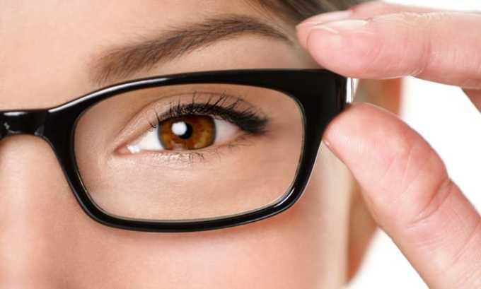 Нарушение зрения - один из побочных эффектов приема Озурдекса