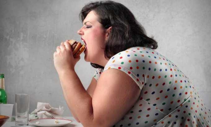 У больного гипертиреозом наблюдается набор веса в связи с нарушением обмена веществ
