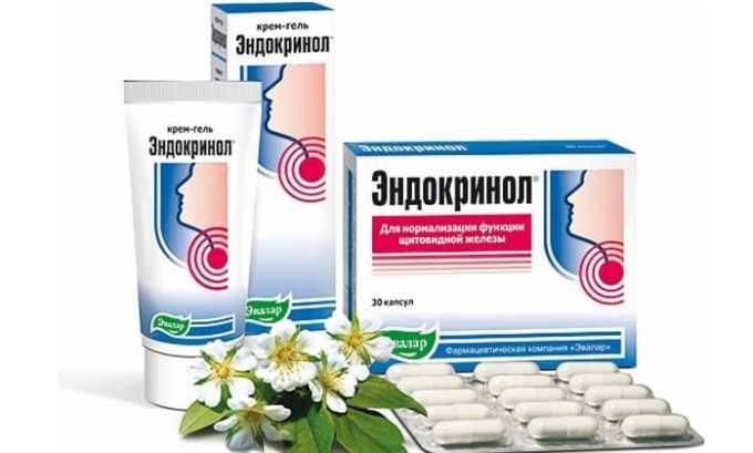 Эндокринол - негормональное средство для поддержания нормальной функции щитовидной железы