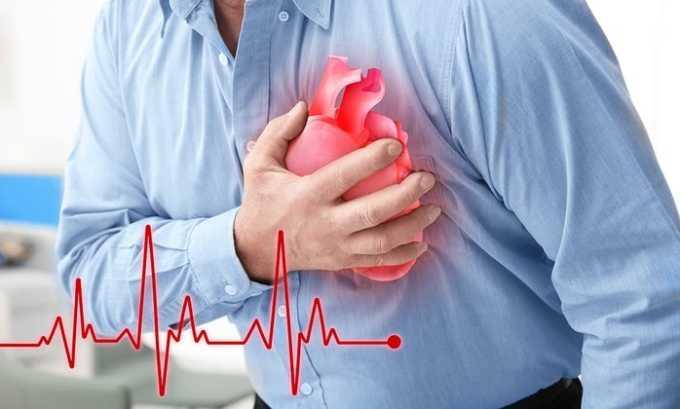 Беталок ЗОК используют при заболеваниях сердца