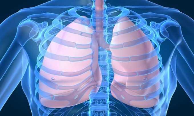 При использовании препарата могут нарушиться дыхательные функции