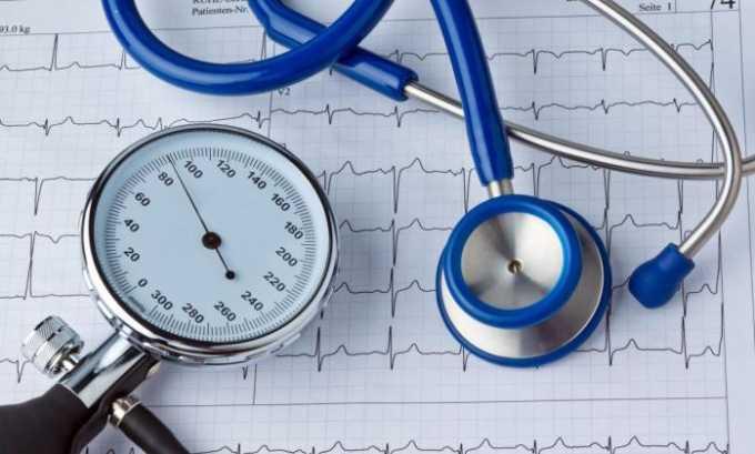 Показанием к применению Анаприлина является артериальная гипертензия