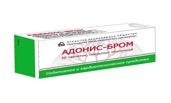 Адонис-Бром считается отличным заменителем Персена