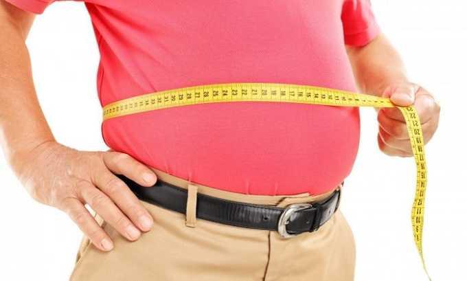 Препарат применяется при ожирении
