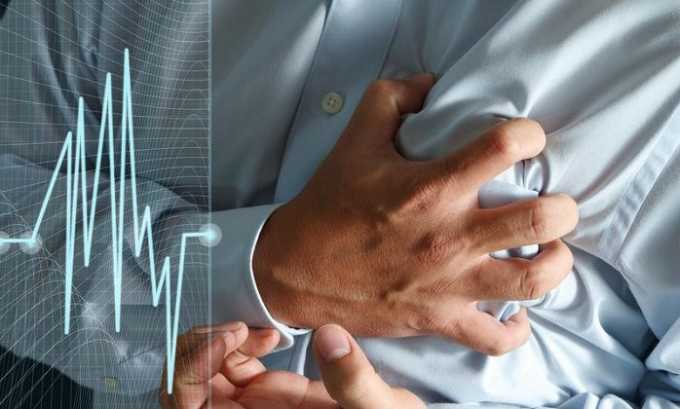 Во время лечения могут ощущаться перебои в работе сердца, одышка, часто повышается давление