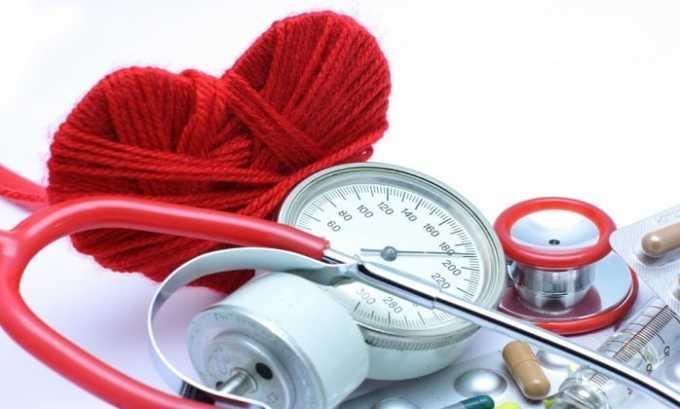 Корвитол помогает нормализовать давление при гипертонии
