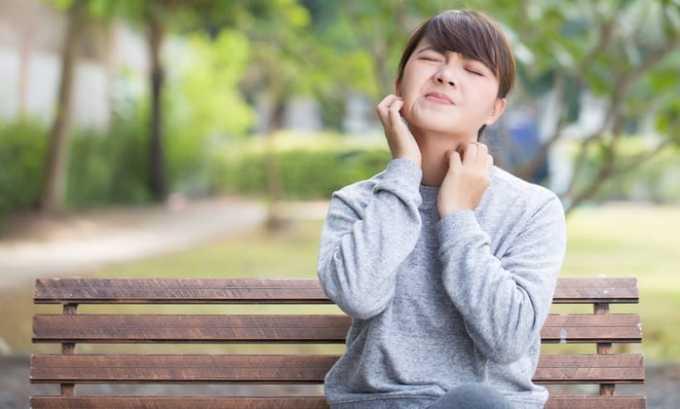 Vitamine B1 имеет некоторые побочные являения, например, зуд и другие аллергические реакции