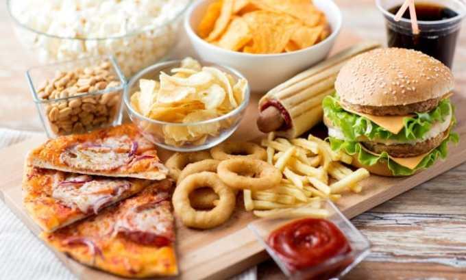 Часто капсулы принимают при несбалансированном питании