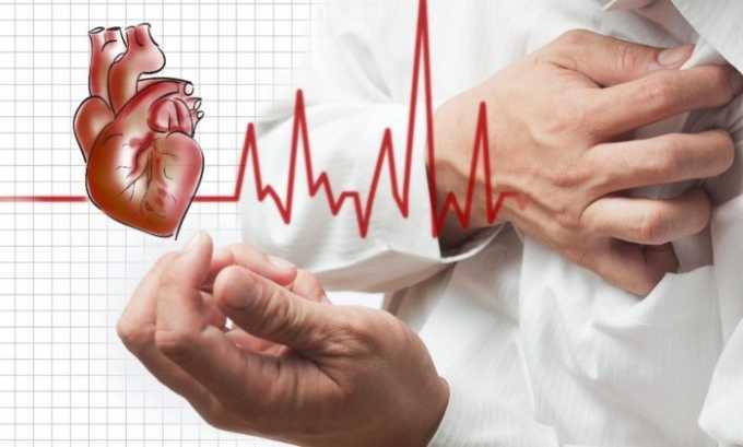 Лекарственное средство применяют в профилактике и лечении нарушения ритма сокращений сердечной мышцы