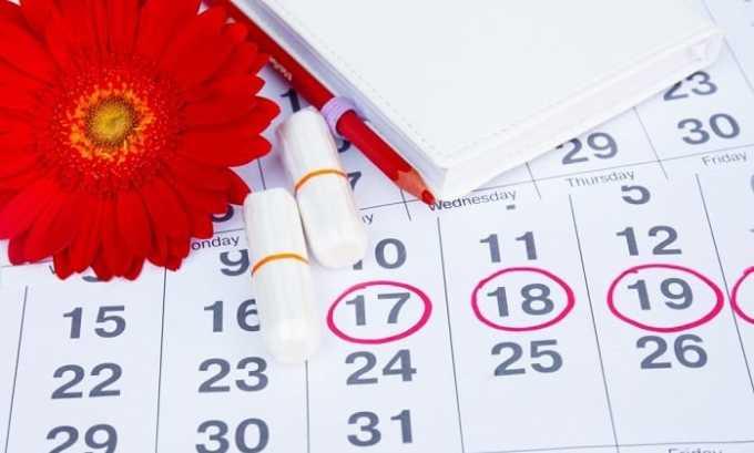Препарат может стать причиной нарушения менструального цикла