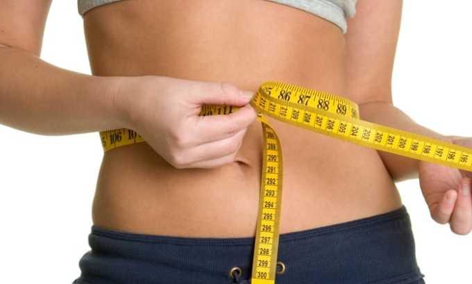 Прием препарата может вызвать снижение массы тела