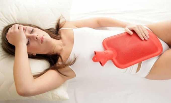 Кетонал назначают для лечения болей при менструации