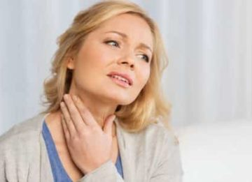 Может ли при заболеваниях щитовидки болеть горло?