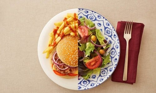 Когда уровень гормонов повышен необходима высококалорийная пища.