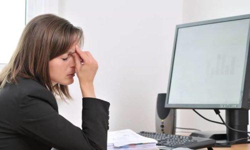 Перенапряжение может стать причиной появления кисты в щитовидной железе
