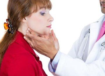 Перешеек щитовидной железы: отклонения и норма