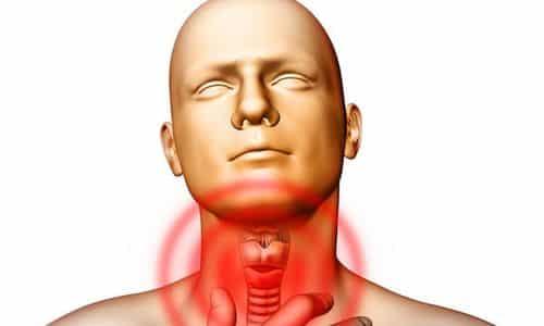 Первые признаки заболеваний щитовидной железы появляются при нарушениях функциональной активности органа